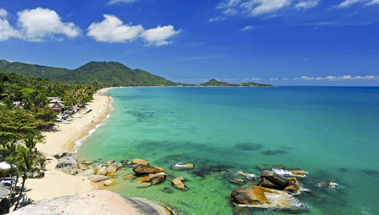 Thaïlande,  plongée dans les eaux de Koh Samui.